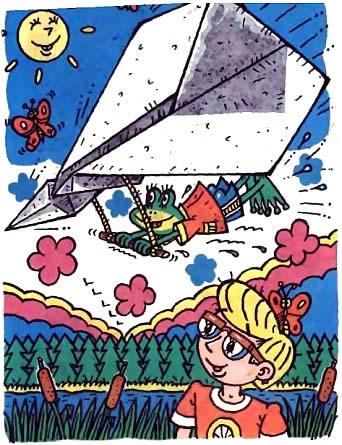 Бумажные самолетики - схемы