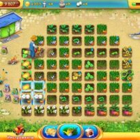 Чудо Ферма зеленая долина для любителей ферм и игр 3 в линию