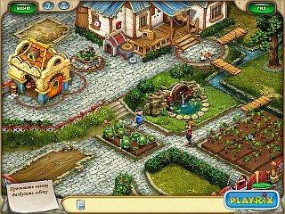Фрагменты из игры Дивное ранчо