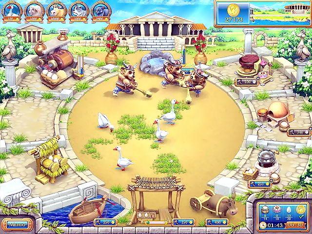 Веселая ферма Древний Рим