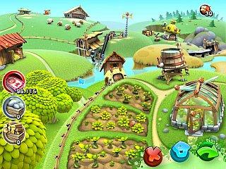 Чудо Ферма в зеленой долине