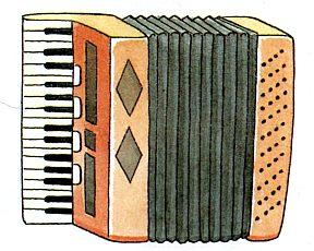 Гармошка, аккордеон