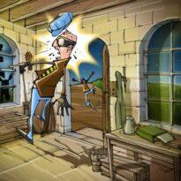 Мини игры где в роли героев мультяшные персонажи скачать