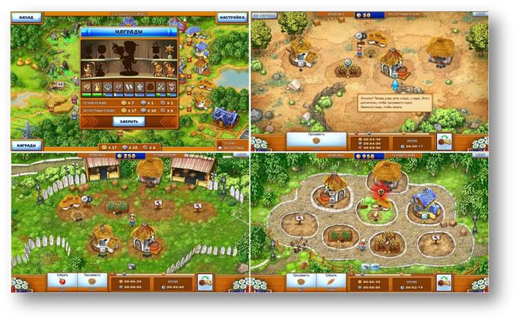 Игра идеальная ферма. Прохождение игры в картинках.