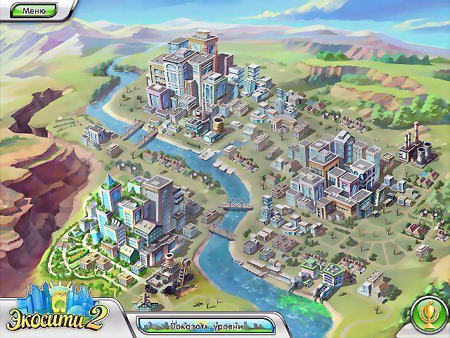 игра зеленый город - эко сити