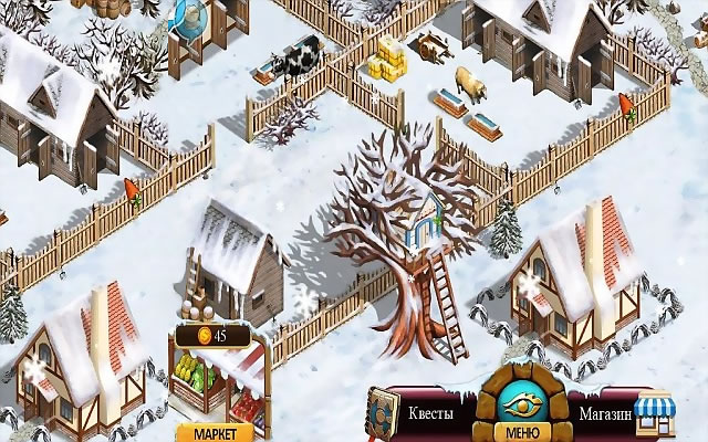 прохождения игры «Фармингтонские рассказы_2, зимний урожай в картинках