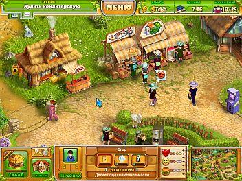 скриншот игры про Энни — фермеры_2