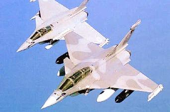 истребитель французских ВВС Rafale