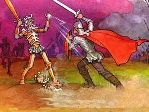 рисунок из сказки о Кощее Бессмертном
