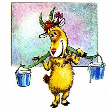 коза дереза, картинки - коза