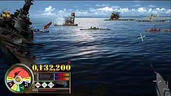 Фрагменты игры «Морской бой. Пёрл-Харбор»