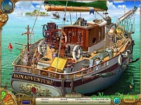 Игра Тайна Немо - пароход вулкания