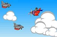 игра про воздушного пилота Мститель