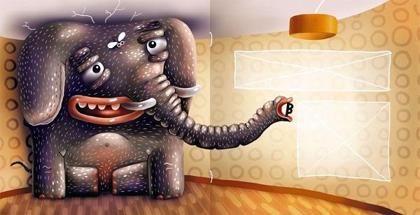 Почему слон большой?
