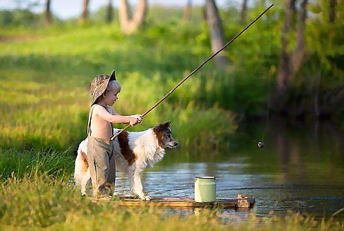 Лето это время для рыбалки