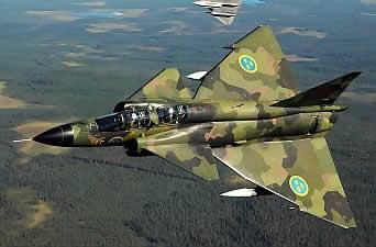 самолет французских ВВС Rafale