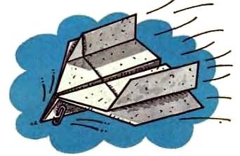 самолётик из бумаги