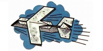 самолетики из бумаги, похожий на Як 130
