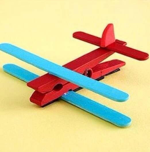 Как сделать самолёт из бумаги и спичек