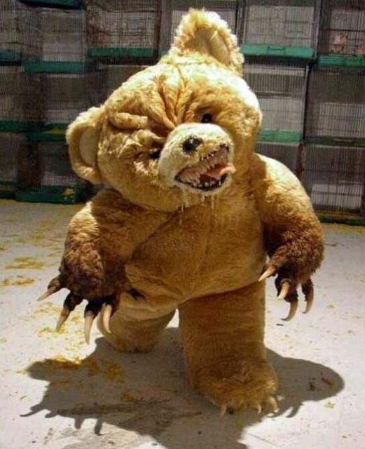 бешенный медведь