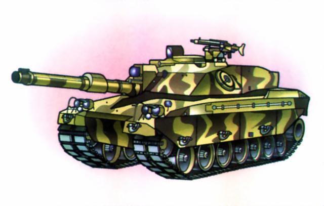 английский танк Challenger