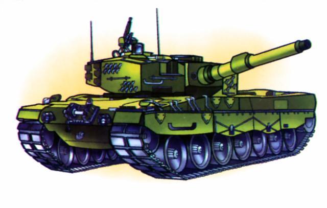 Облегченный танк Leopard