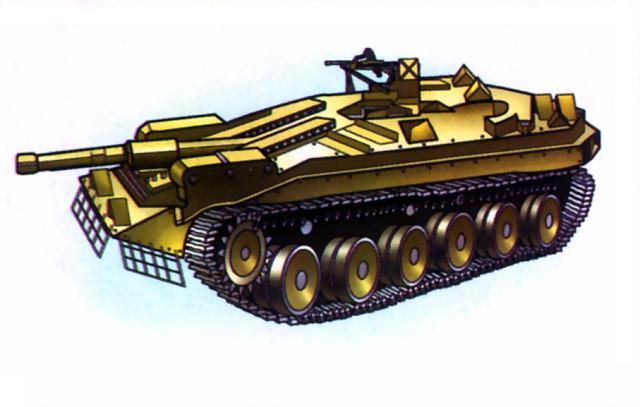 Швейцарский танк STRV-103B