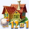 Веселая ферма, 12 игр в 1 сборнике