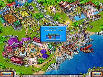 Римейк игры Веселая ферма_3 или Древний Рим