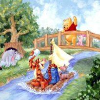 Герои сказки, домовенок Кузя, гена крокодил, винипух и др.