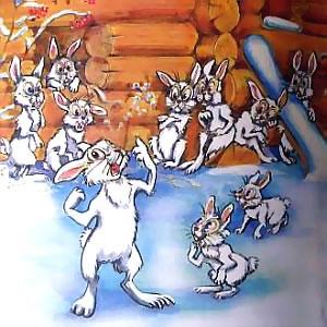 Заяц хваста, презентация и книжка с картинками – скачать бесплатно